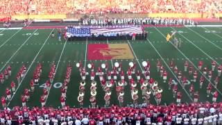 'Pitt State Marching Band - Sept. 7th, 2013 (National Anthem)
