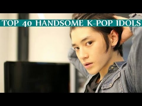 [TOP 40] Handsome K-POP Idols