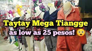 TAYTAY TIANGGE 2019 | Taytay Mega Tiangge (TMT)