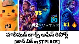 AVENGERS ENDGAME VS AVATAR BOX OFFICE COLLECTION REPORT HOLLYWOOD 2019 BOX OFFICE REPORT IN TELUGU