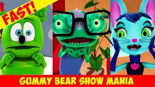 Gummy's Lucky Day (FAST) Special Request - Gummy Bear Show MANIA