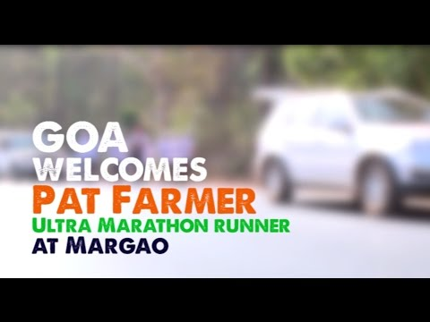 Goa welcomes Pat Farmer - Ultra Marathon Runner