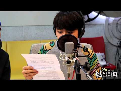 신동의 심심타파 - EXO Chen & Baek Hyun & D.O, 'Shrinking Warning' act challenge, 엑소, 오글주의보 연기도전 20131211
