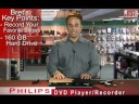 Philips 160GB DVD Player and Recorder - JR.com