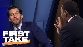 Stephen A. Smith goes off on Will Cain for Cowboys' postseason 'delusions'    First Take   ESPN