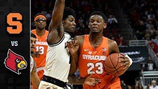 Syracuse vs. Louisville Basketball Highlights (2017-18)