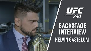 UFC 234: Kelvin Gastelum - 'I Earned This Belt'