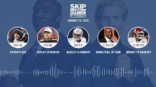 UNDISPUTED Audio Podcast (01.23.19) with Skip Bayless, Shannon Sharpe & Jenny Taft | UNDISPUTED