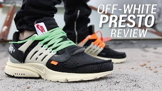 OFF WHITE NIKE AIR PRESTO REVIEW