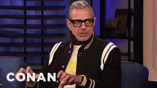Jeff Goldblum Gets A Sensual Thrill From Playing Piano