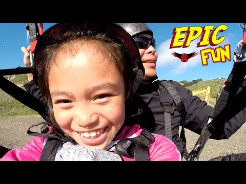 Epic Paragliding Adventure Day in Pacifica California With The Family!