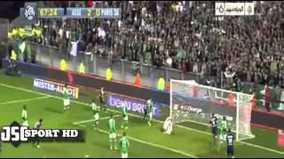 اهداف مباراة سانت إيتيان 2 2 باريس سان جيرمان الدوري الفرنسي 2013 10 27) تعليق حفيظ الدراجي