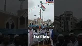 TELANGANA Minorities Cab Dirvers association clebartions independence Day