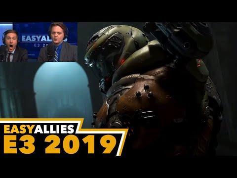 Doom Eternal - Easy Allies Reactions - E3 2019