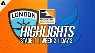 London Spitfire vs Dallas Fuel ft Profit Cocco   Overwatch League Highlights OWL Week 2 Day 3