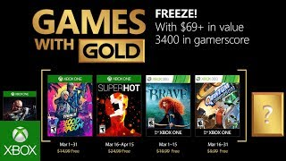 Free Games with Gold in March are super hot