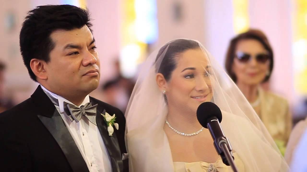 China Cojuangco & Gino Gonzalez Wedding - YouTube