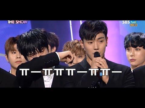 [몬스타엑스/1위♛] 첫 1위 후 놀라고 서럽게 우는 멤버들 반응(+수상소감,앵콜무대/ 1위 축하합니다!!♥)