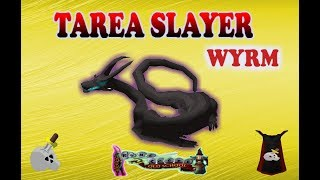 Tarea Slayer Wyrm - Runescape en español