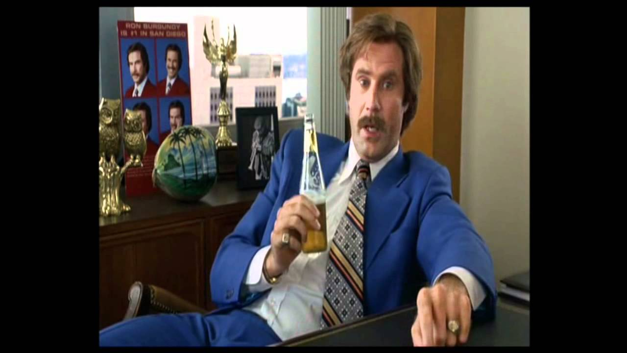 ron burgundy that escalated quickly youtube