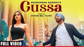 Gussa – Mansimran Sandhu