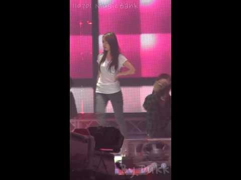 110701 f(x) Mirror Mirror rehearsal Krystal fancam