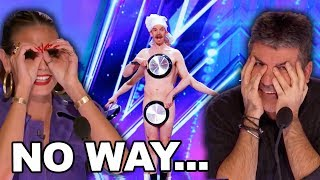 Risky Audition From Men With Pans Sends The Judges Flipping CRAZY!