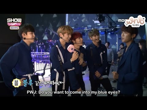 [ENG SUB] 180619 Show Champion Behind - Wanna One Cuts by WNBSUBS