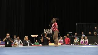 Simone Biles (2015) // Kennedy Baker (2018) Gymnastics Floor Music Audio Swap