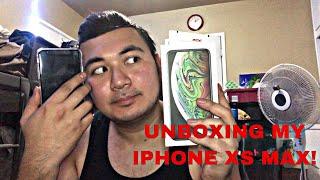 UNBOXING MY BRANDNEW IPHONE XS MAX! (PARAFFLE KO NABA IPHONE X KO?)