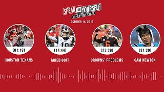 SPEAK FOR YOURSELF Audio Podcast (10.14.19)with Marcellus Wiley, Jason Whitlock   SPEAK FOR YOURSELF