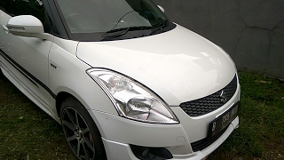 Suzuki Swift GX M/T (2013) Start Up & Review Indonesia