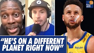 Jrue Holiday and JJ Redick Freak Out Over How Good Steph Curry Is Playing Right Now