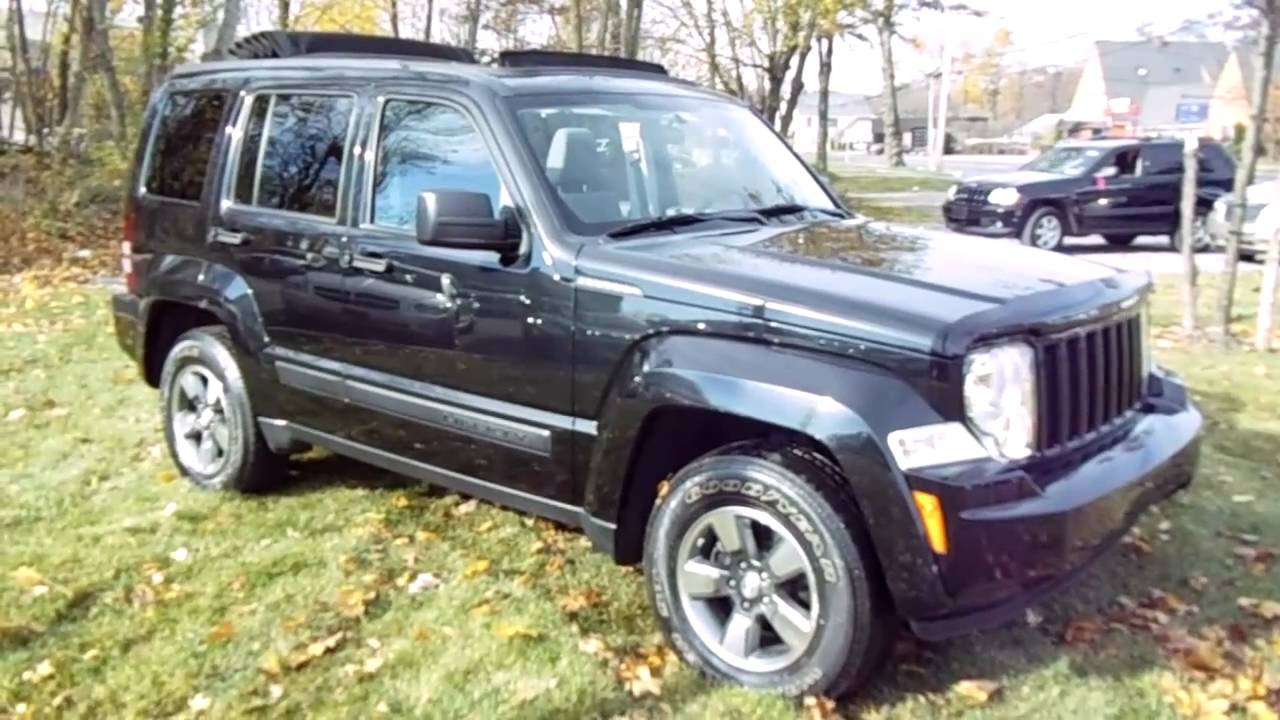 2008 jeep liberty sport for sale super clean with sky slider roof youtube. Black Bedroom Furniture Sets. Home Design Ideas