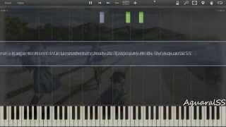 [Synthesia] True Tears - Kagami, Kimi Wo Utsushite (Piano Tutorial + VSTi)