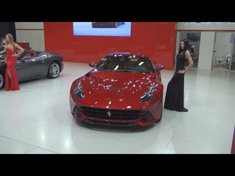 Ferrari F12berlinetta (2015) Exterior and Interior in 3D