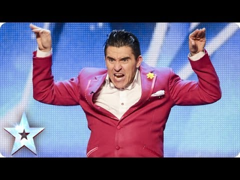 Ricky K's laugh out loud love story   Britain's Got Talent 2014