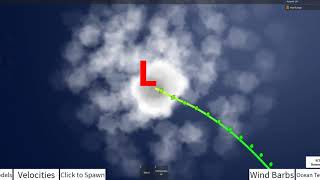 Hurricane Tracker 3 Timelapse of Category 5 Hurricane