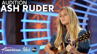 Not A Dry Eye In Sight! Ash Ruder Performs An Original Song For Her Dad -  American Idol 2021