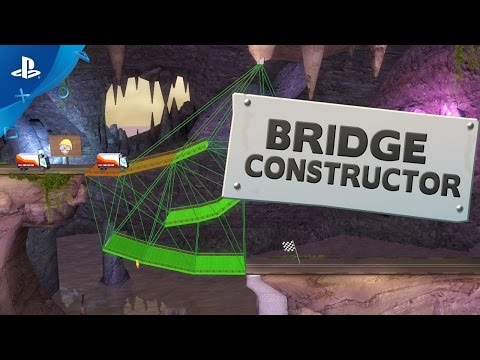 Bridge Constructor Video Screenshot 1
