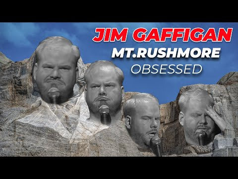 Jim Gaffigan  OBSESSED    Mt  Rushmore  4th of July