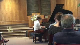 Jack 2018 Spring Piano Recital