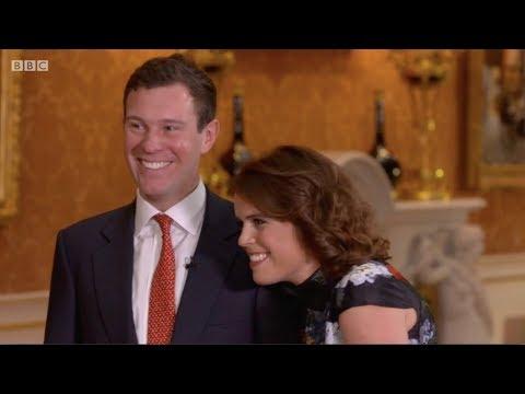 Jack Brooksbank first ever TV interview with Princess Eugenie. The One Show. Matt Baker. 22 Jan 2018