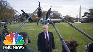 President Donald Trump Says U.S. Stands With Saudi Arabia Following Khashoggi Murder   NBC News