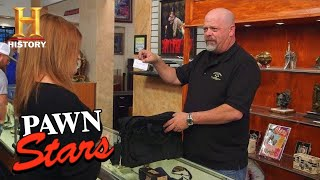 Pawn Stars: Tough Negotiation For Valuable Movie Props (Season 16) | History