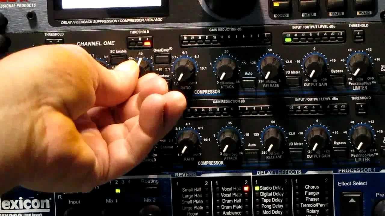 Stage Left Audio Basic Compressor Vocals Drums Bass
