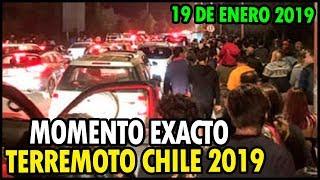 TERREMOTO en CHILE IMÁGENES del MOMENTO EXACTO