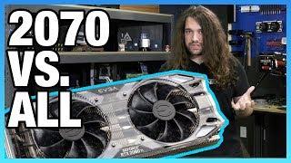 EVGA RTX 2070 Review & Overclocking vs. GTX 970, 1070, & More