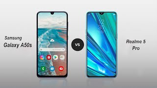 Samsung Galaxy A50s Vs Realme 5 Pro Speed Comparison in Hindi (2019)