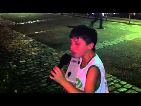 Corre corre Corazón, Jorgito canta en Puerto Madero